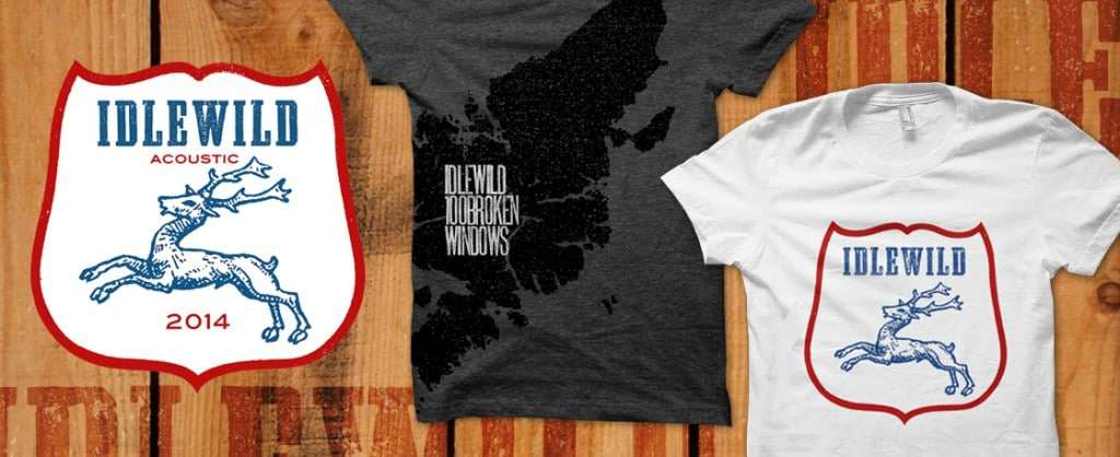 Merchandise design for Idlewild